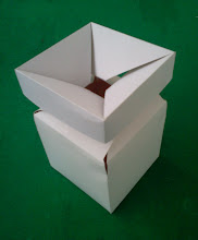 Photo: Caixa Especial (26) - Detalhes na abertura - III. Ideal para cosméticos em frascos finos.