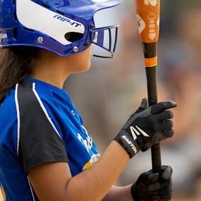 Softball by Jack Goras - Sports & Fitness Baseball ( baseball, batting, florida, softball, orlando,  )