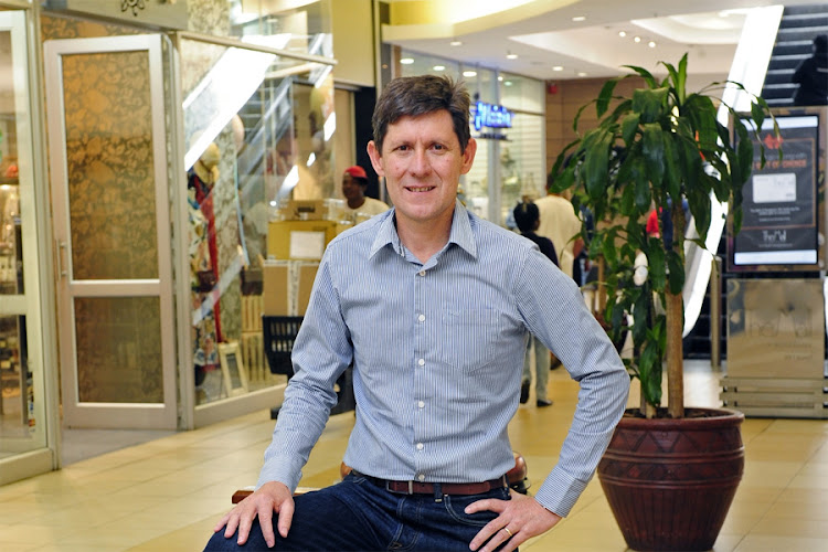 Hyprop Investments CEO Pieter Prinsloo. Picture: FINANCIAL MAIL