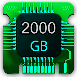 2000GB STORAGE AND CLEANER SPACE for PC