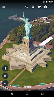 Google Earth: miniatura de captura de pantalla