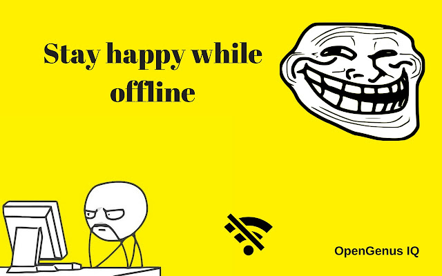 OpenGenus: Save Page and Stay happy offline