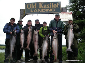 Photo: Alaska Drift Away Fishing knows what it takes to consistently catch Alaska's king salmon and ranks the Kasilof river atop there list.