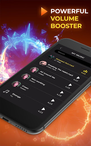 Screenshot for MP3 Player– Free Music Player - Music Plus in United States Play Store