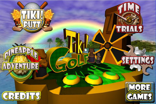 Tiki Golf 3D FREE  screenshot 11