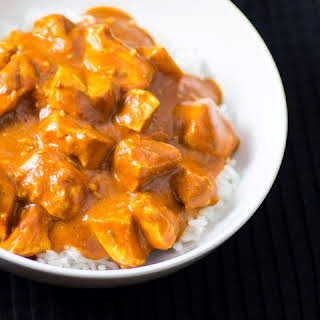 Healthy Slow Cooker Butter Chicken.