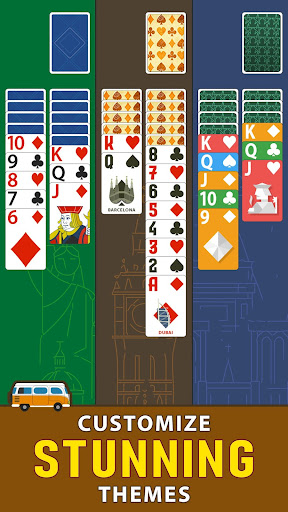 Solitaire Landmark: Brained Out Puzzle Card apkmind screenshots 5