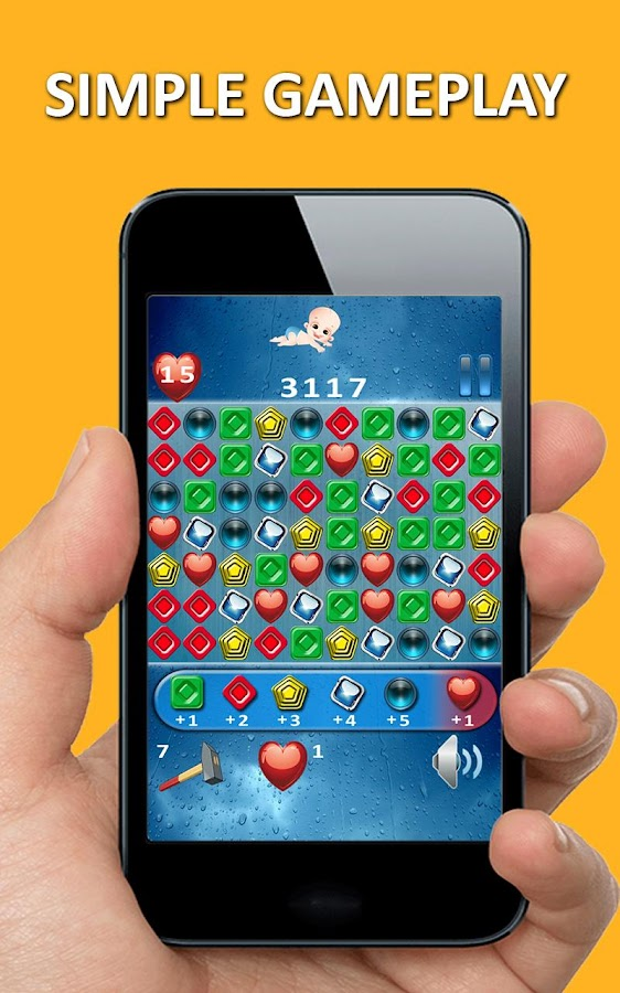 Triada - match 3 puzzle online- screenshot