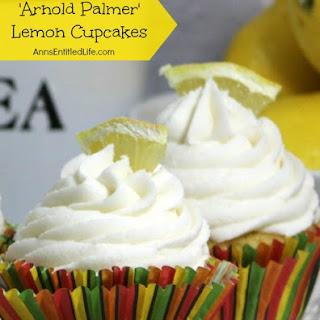 Arnold Palmer Lemon Cupcake