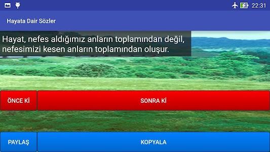 Hayata Dair Sözler screenshot 6