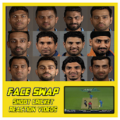 Shoot Cricketers Reaction Videos - Face Swap