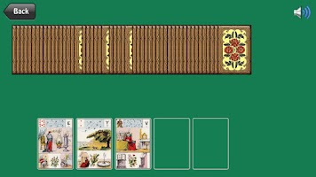 Screenshot of Lenormand Tarot