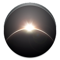 Earth, Sun and Moon icon