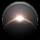 Earth, Sun and Moon icon