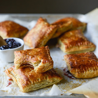 Smoked Cheddar and Cherry Jam Pastry Pop Tarts.