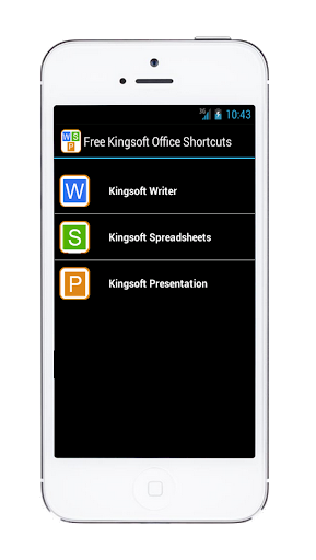 Shortcuts For Kingsoft Office