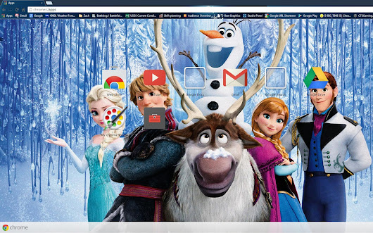 Olaf and Friends - Frozen - Disney