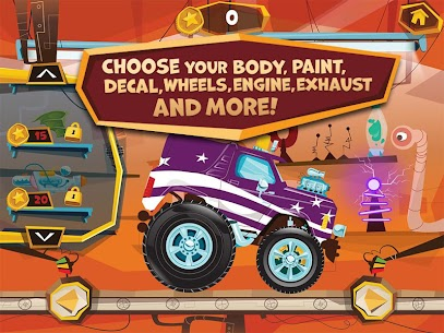 Build A Truck -Duck Duck Moose 1.2 Android Mod + APK + Data 2