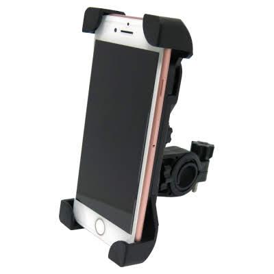 這種支架就是鷹爪式的,因為手機的四個角都可以固定到,就算摔到也可以第一時間就保護到四個邊角
