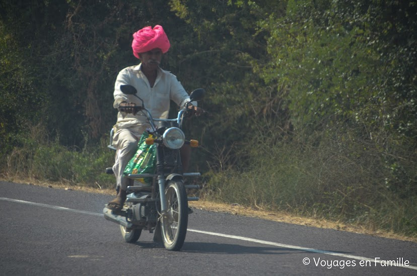 Turban à moto