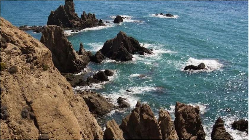 Imagen de archivo del Arrecife de las Sirenas, en el Parque Natural de Cabo de Gata-Níjar.