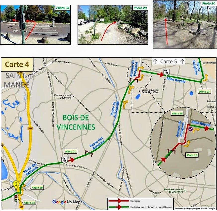 carte guide balade à vélo à Paris et en Ile de France par veloiledefrance.com