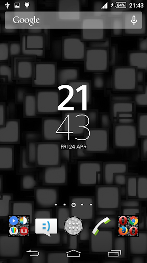 Xperien Theme Black Tiles