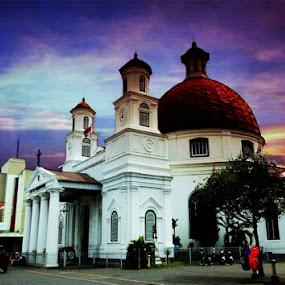 Blenduk   Church by Piping Kusumadati - Buildings & Architecture Public & Historical ( church )