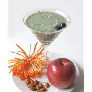 Alexis DelChiaro's Fruit Spirulina Smoothie.