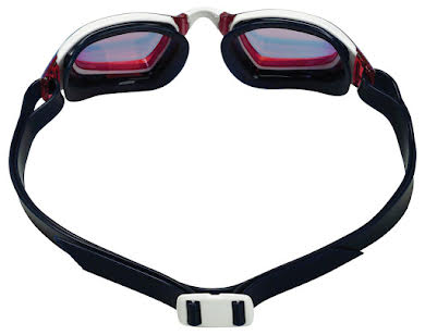Michael Phelps Xceed Goggles - Blue/White with Red Titanium Mirror Lens alternate image 1