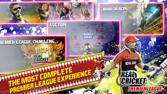 Real Cricket™ Premier League v1.1.2 MOD APK 5