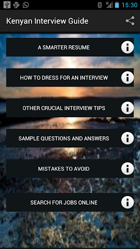Kenyan Interview Guide
