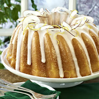 Coconut and Lemon Bundt Cake.