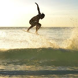 SKIM BOARDING by Philip Familara - Sports & Fitness Watersports ( water, sand, watersports, boracay, white, sports, skimboarding, beach, board, philippines, activity, island,  )