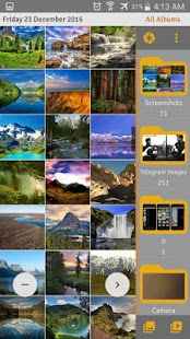 Calendar Gallery - photos & videos inside calendar - náhled