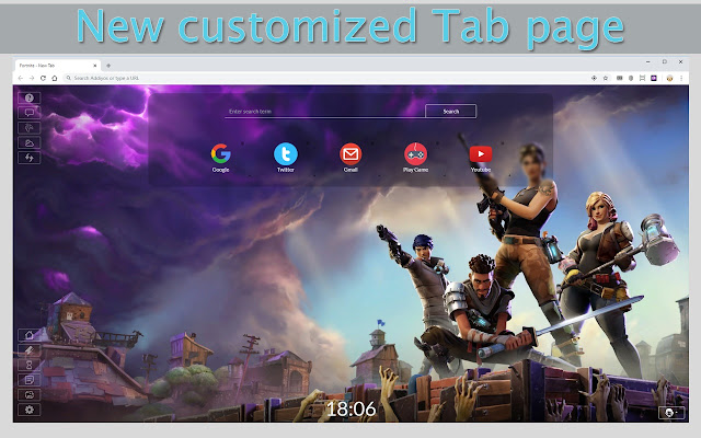 Fortnite New Tab