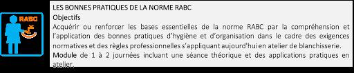 Formation, Audit, RABC, Hygiène, Blanchisserie