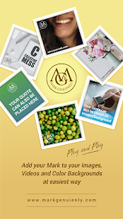 Mark Genuinely - Put Logo & Text on Photo or Video - náhled
