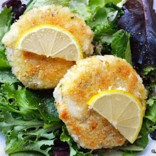 Smoked Salmon and Cod Cakes.
