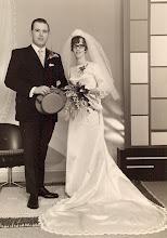 Photo: Berend en Roely Raterink-Okken, 16 mei 1968