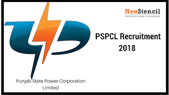 Punjab State Power Corporation Limited (PSPCL) - Recruitment 2018