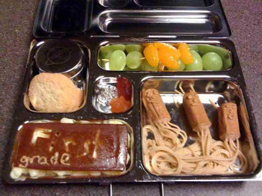 Creative School Lunch Box