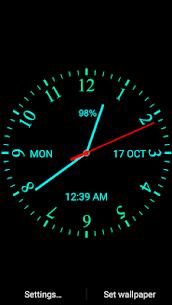 Analog Clock Live Wallpaper 111.4.17 Android Mod APK 1
