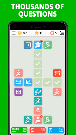 Free Trivia Game. Questions & Answers. QuizzLand. apkdebit screenshots 7