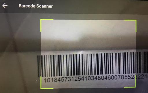 VS Short Barcode Scanner screenshot 1