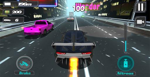汽车超车 - 公路赛车
