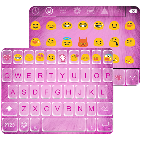 Sweet Fluffy Emoji Keyboard