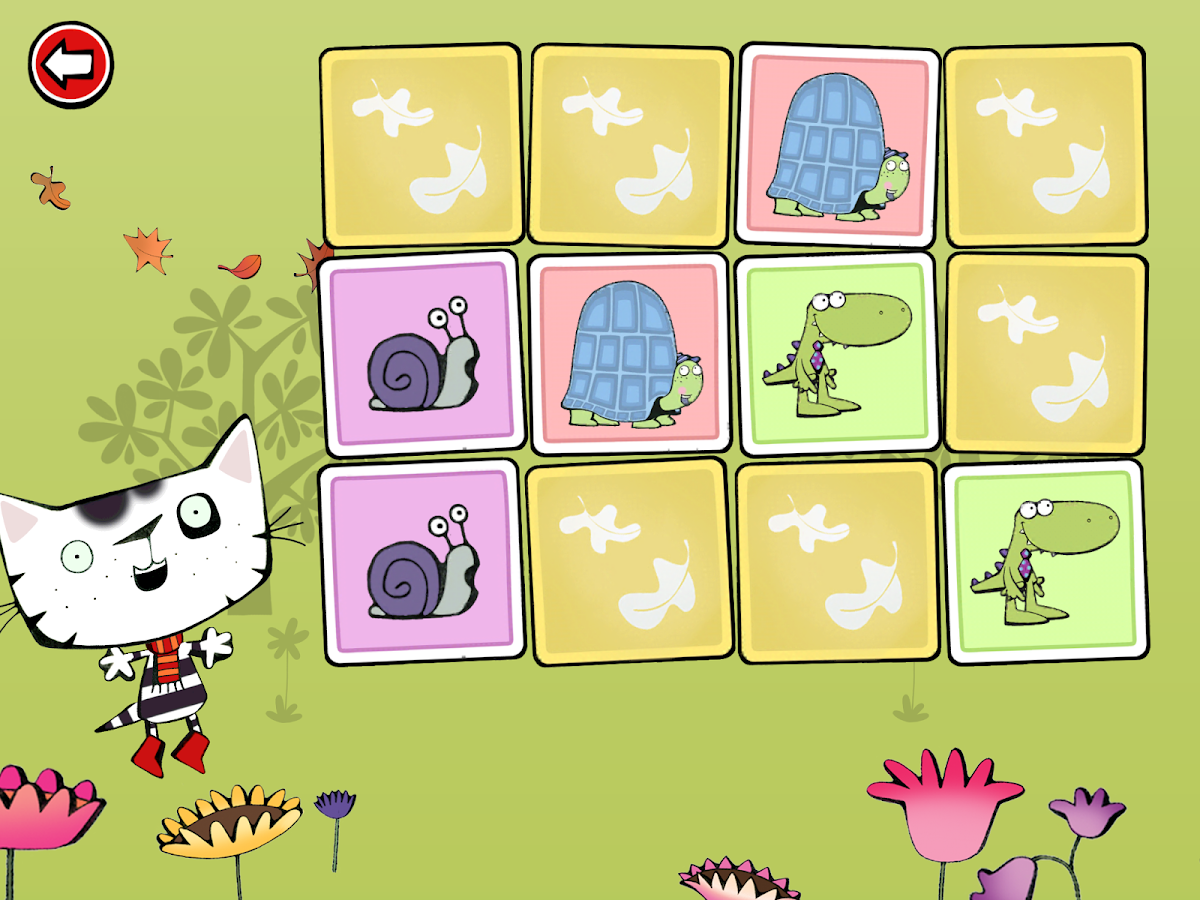 Wussywat Garden Games- screenshot