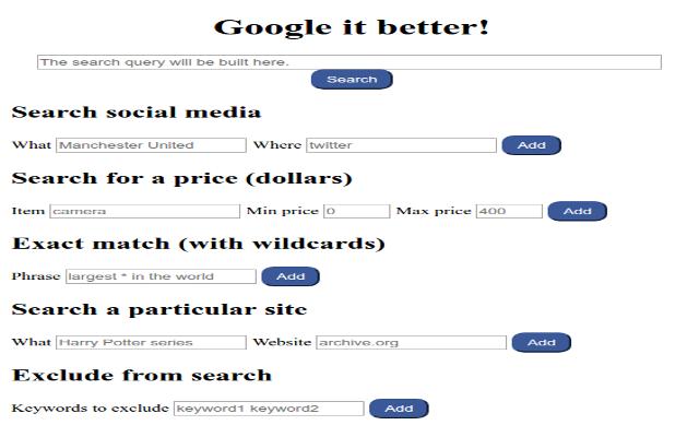 google-it-better
