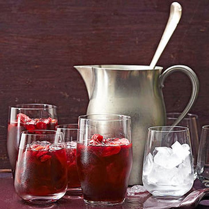 Apple-Cinnamon Winter Sangria Recipe | Yummly
